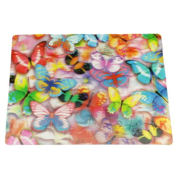 Puzzle 3D - 48 pieces - les papillons Puzzle 3d