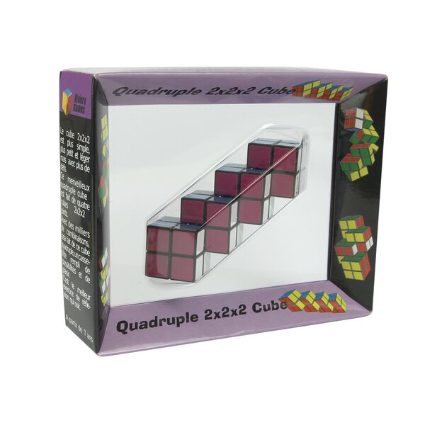 Multi-cube quadruple - 15 x 4 x 12 cm
