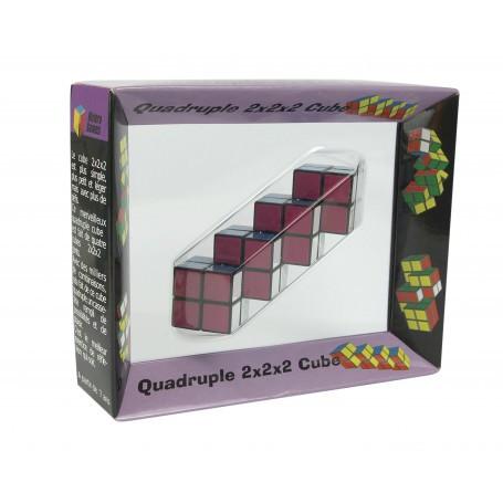 Multi-cube quadruple - 15 x 4 x 12 cm
