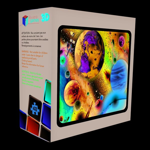 Puzzle 3D - 48 pieces - lespace Puzzle 3d