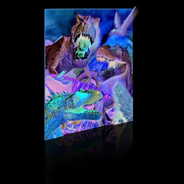 Puzzle 3D - 48 pieces - les dinosaures Puzzle 3d
