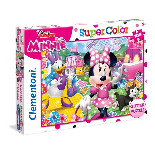 Minnie Happy Helpers - à paillette Puzzle 104 pièces