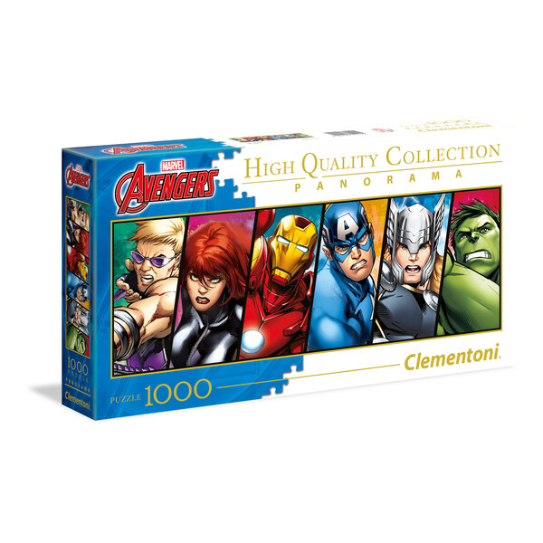 Panorama - The Avengers (A2x1) Puzzle 1000 pièces