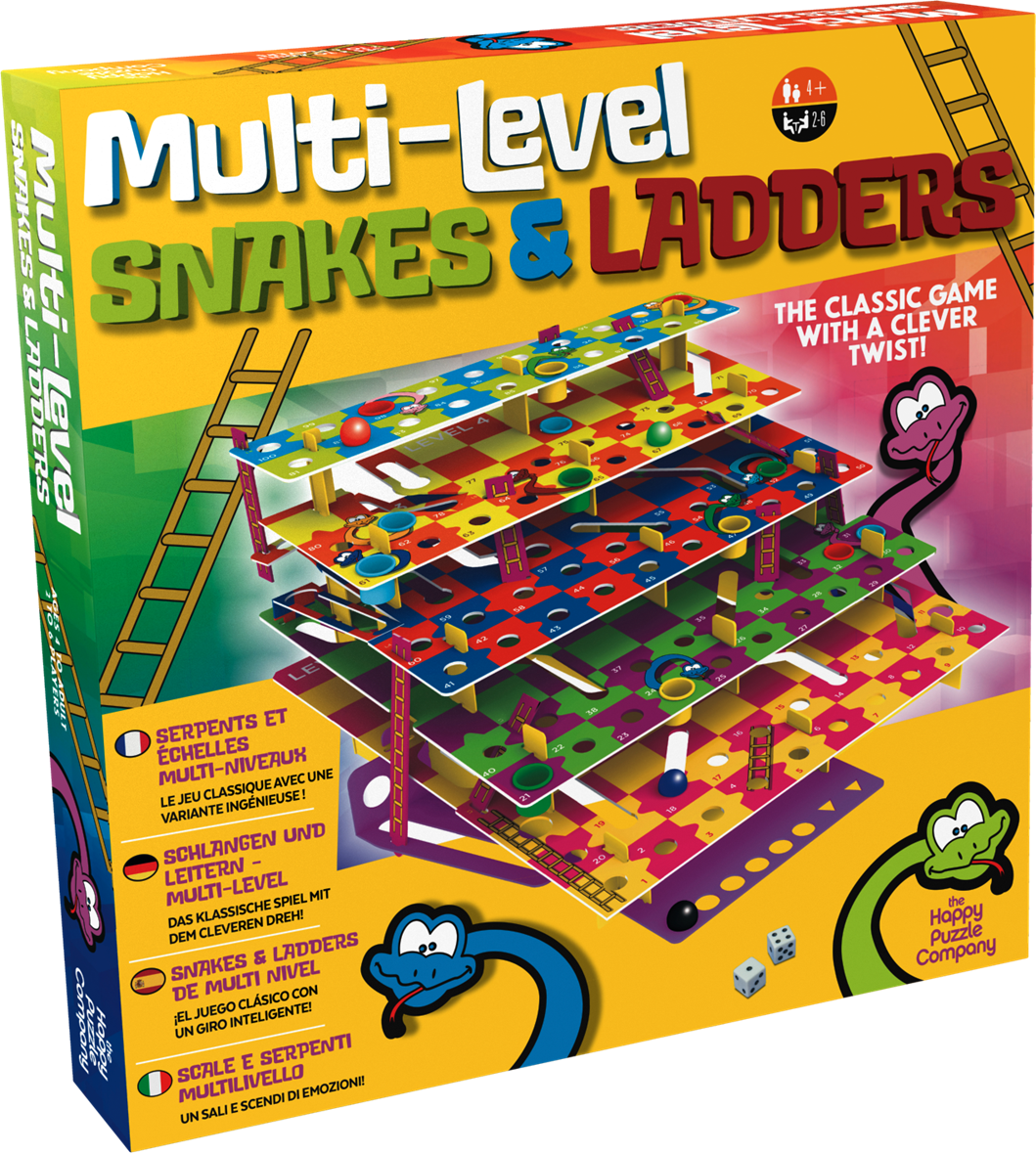 Casse-têtes - Snake and ladders --Riviera Games