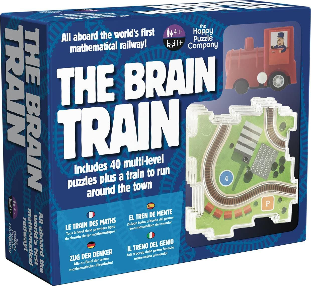 Casse-têtes - The brain train --Riviera Games