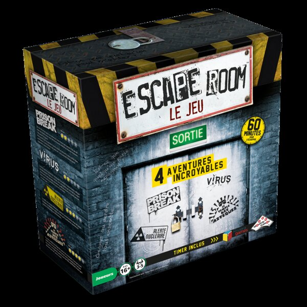 Escape games - coffret de 4 jeux Riviera Games RIV-7116