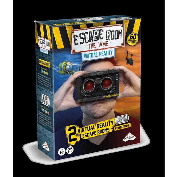 Escape games - coffret de 2 jeux realite virtuelle