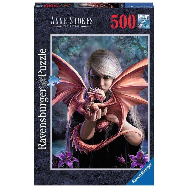 La fille au dragon Puzzle 500 pièces