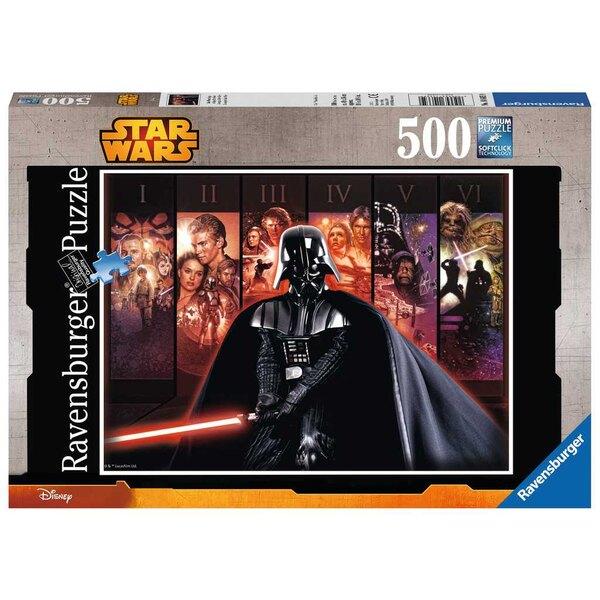 La saga Star Wars / Star Wars Puzzle 500 pièces