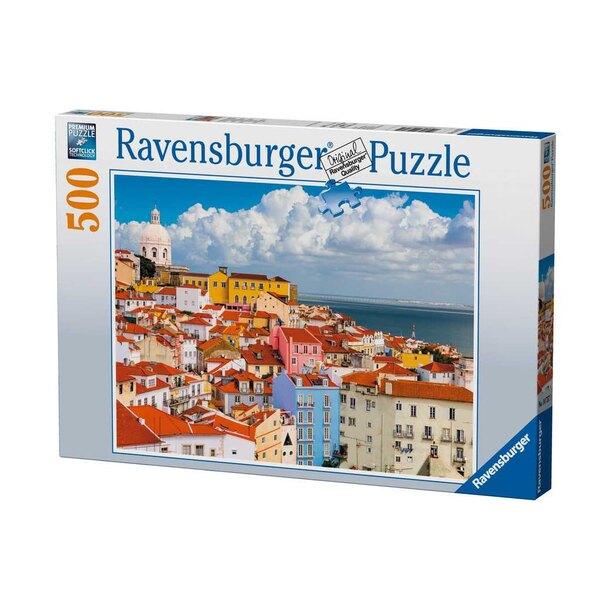 Colline de l'Alfama / Lisbonne Puzzle 500 pièces