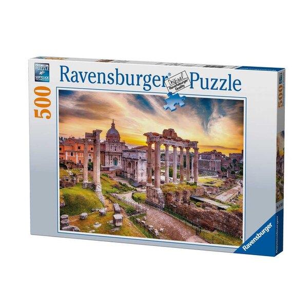 Rome au crépuscule Puzzle 500 pièces