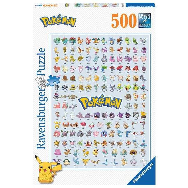 Puzzle Pokédex première génération / Pokémon