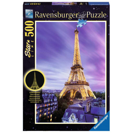 Puzzle Tour Eiffel scintillante