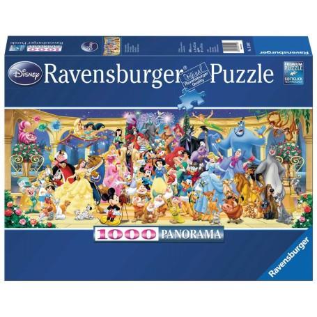Puzzle Photo de groupe Disney (Panorama)