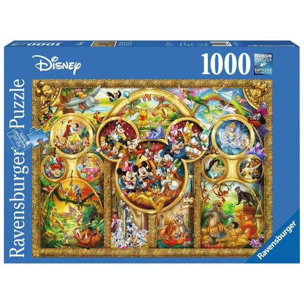Les plus beaux thèmes Disney Puzzle 1000 pièces
