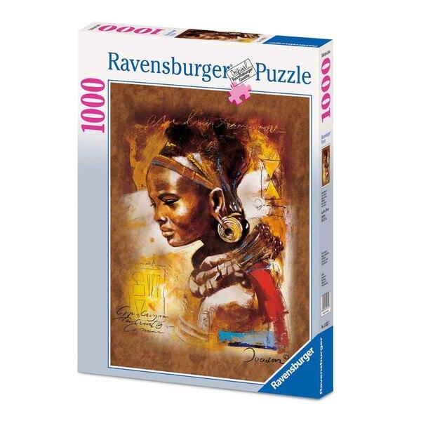 Jeune Africaine Puzzle 1000 pièces