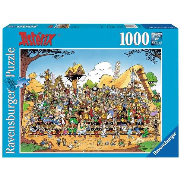 Photo de famille / Astérix Puzzle 1000 pièces