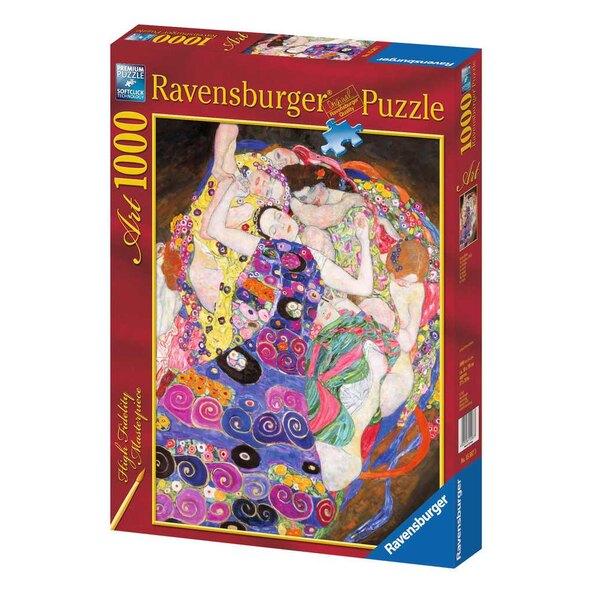 La vierge / Gustav Klimt Puzzle 1000 pièces