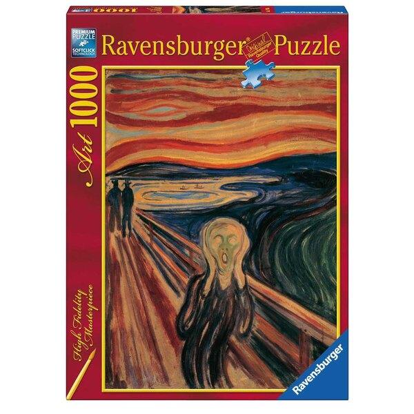 Le cri / Edvard Munch Puzzle 1000 pièces
