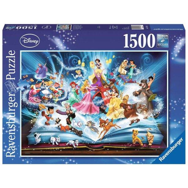 Le livre magique des contes Disney Puzzle 1500 pièces