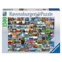Puzzle Les 99 plus beaux endroits du monde Ravensburger RAV-163199