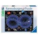 Puzzle Planisphère céleste Ravensburger RAV-163731
