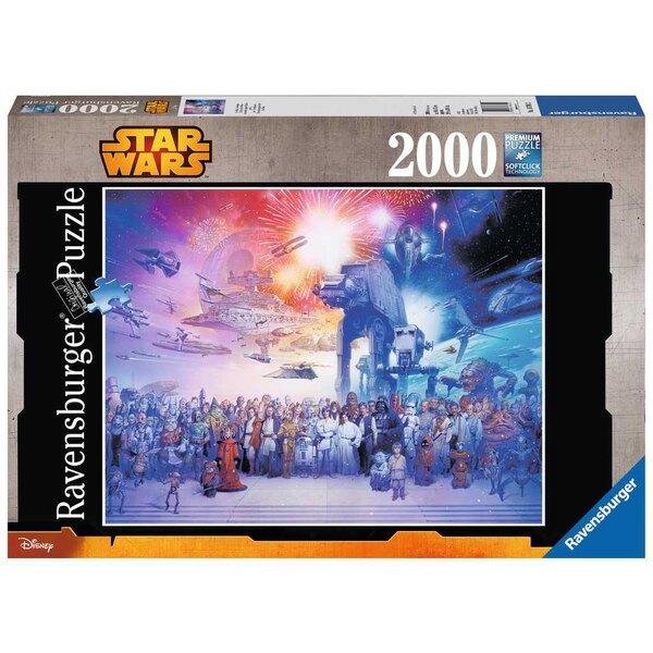 L'univers Star Wars / Star Wars Puzzle 2000 pièces