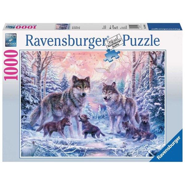 Loups arctiques Puzzle 1000 pièces