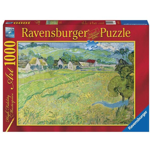 Les Vessenots à Auvers / Vincent Van Gogh Puzzle 1000 pièces