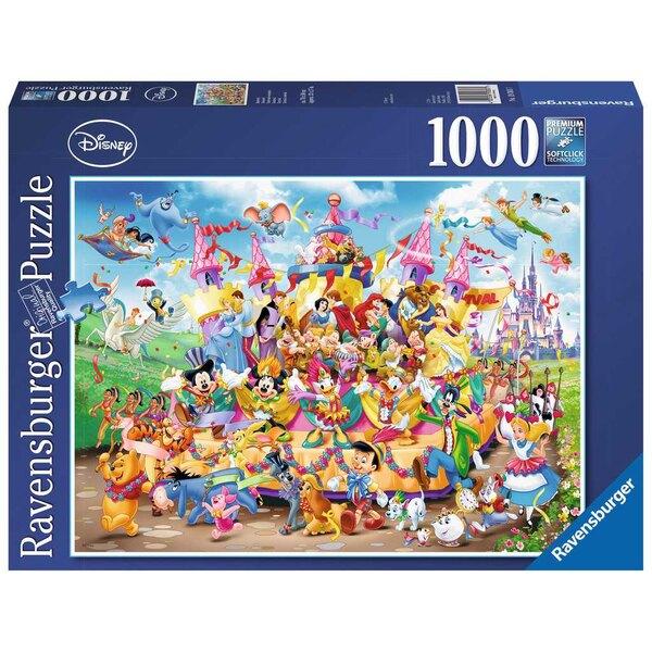 Carnaval Disney Puzzle 1000 pièces