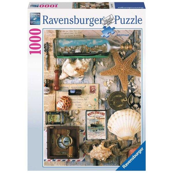 Souvenirs de mer Puzzle 1000 pièces