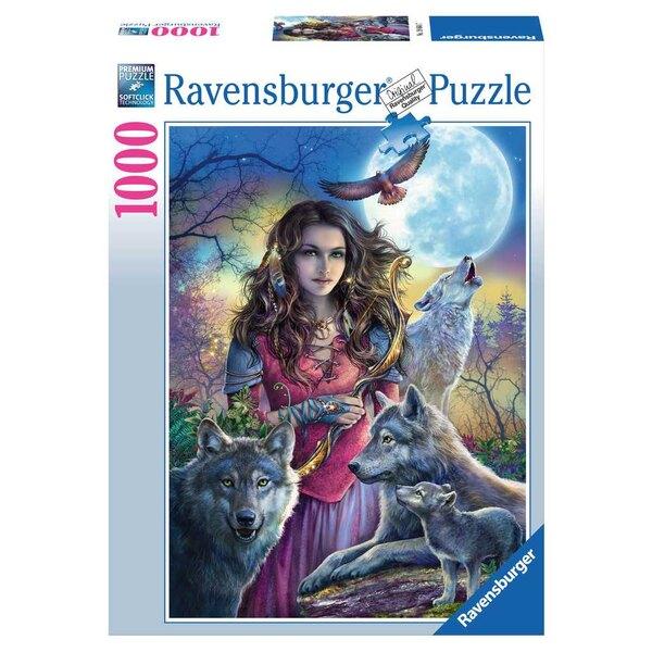 La maîtresse des loups Puzzle 1000 pièces