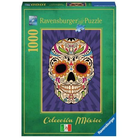 Puzzle Tête de mort mexicaine