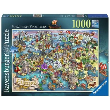 Puzzle European Wonders