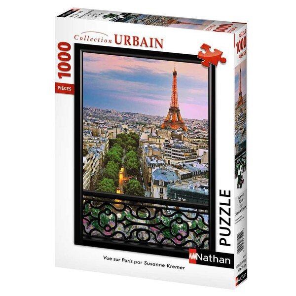 Vue sur Paris Puzzle 1000 pièces