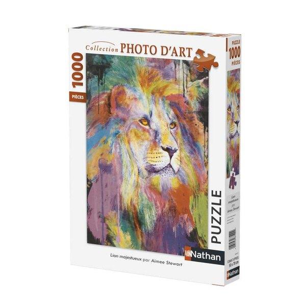 Lion majestueux Puzzle 1000 pièces