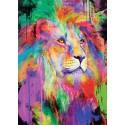 Puzzle Lion majestueux