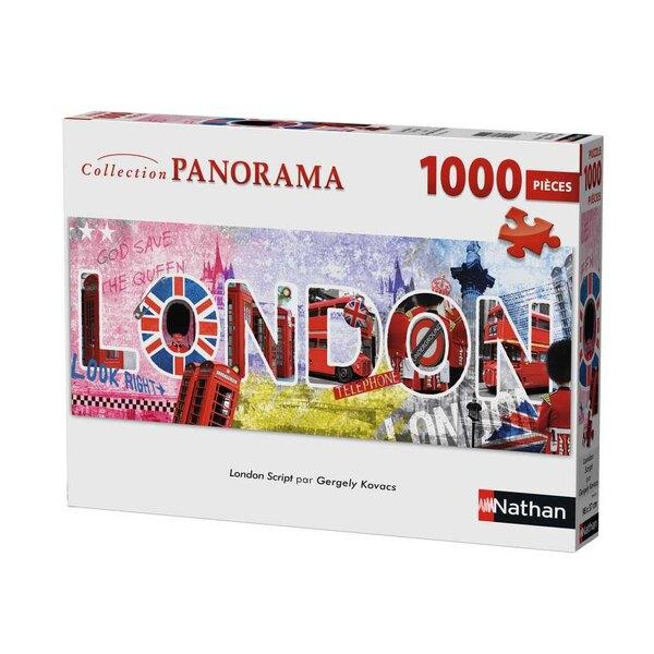London script Puzzle 1000 pièces
