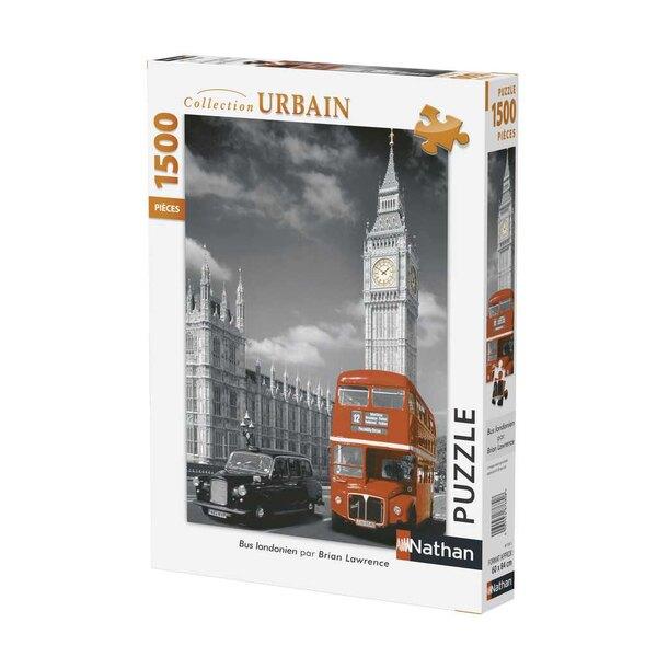 Bus Londonien Puzzle 1500 pièces