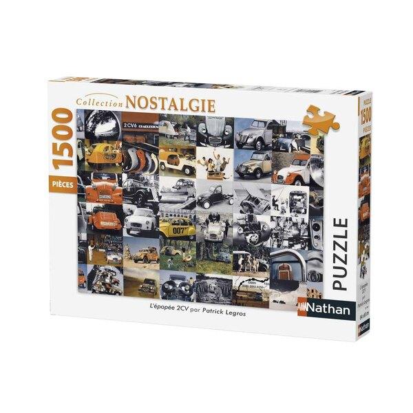 L'épopée 2CV / Citroën Puzzle 1500 pièces