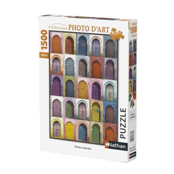 Puzzle Portes colorées