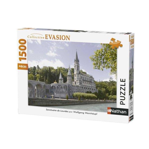 Sanctuaire de Lourdes Puzzle 1500 pièces
