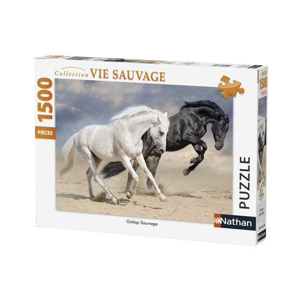 Galop sauvage Puzzle 1500 pièces