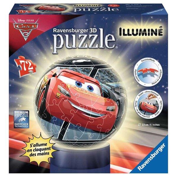 Cars 3 Puzzle 3d 72 pièces
