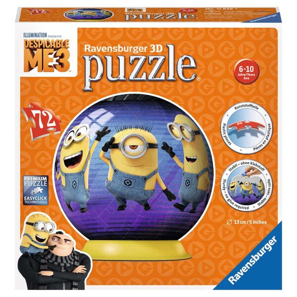 Moi Puzzle 3d 72 pièces