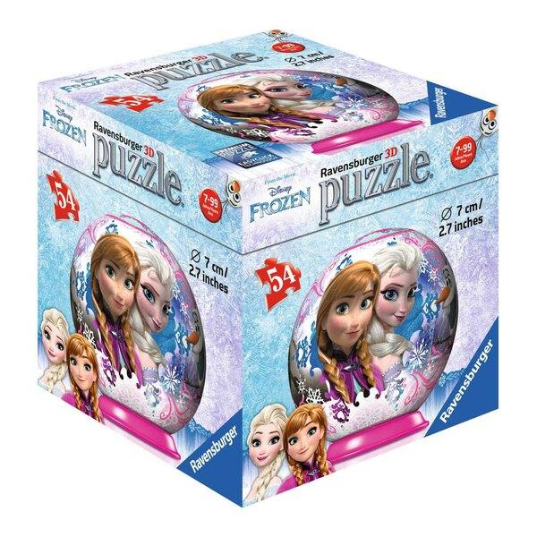 La Reine des Neiges - 4 motifs Puzzle 3d 54 pièces