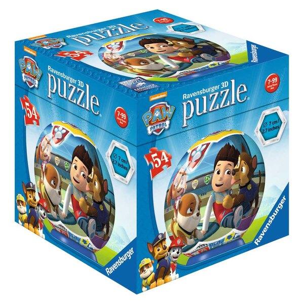 Pat'Patrouille - 3 motifs Puzzle 3d 54 pièces