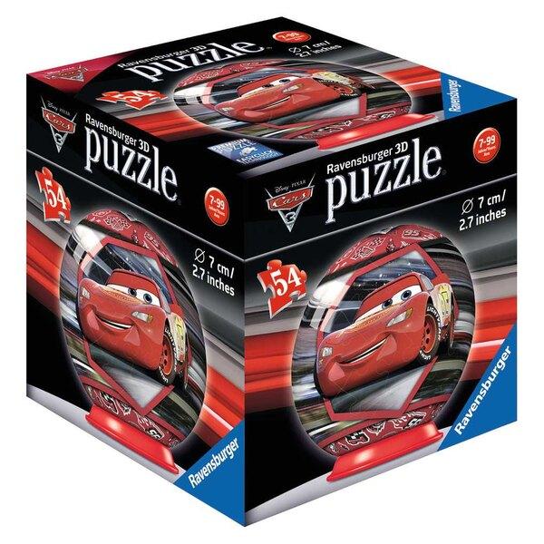 Cars 3 - 3 motifs Puzzle 3d 54 pièces