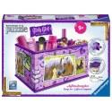 Puzzle 3d Boîte de rangement - Girly Girl - Chevaux