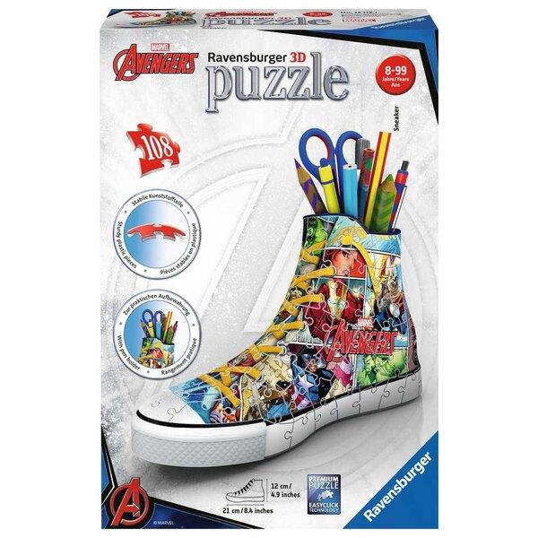 Sneaker Marvel Avengers Puzzle 3d